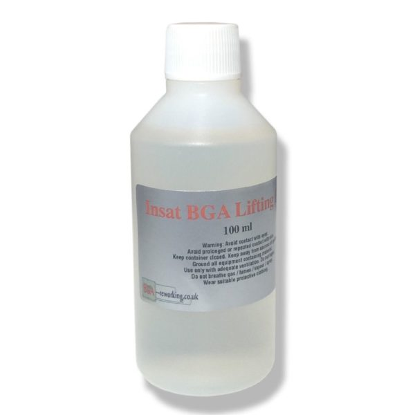 Insat BGA Lifting Flux - Shiny Oxide Free Pads On Both BGA/PCB - 100ml (supplied with a pipette)-0