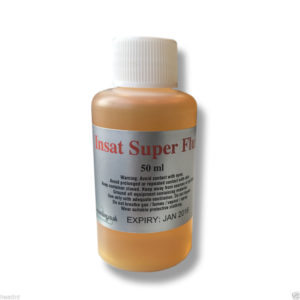 Insat RMA Liquid Super Flux 50ml / 100ml- No Clean ROL0 (supplied with a pipette)-0