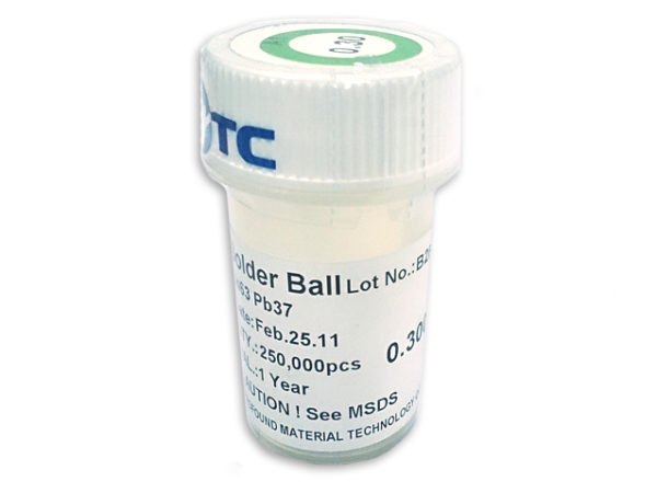 PMTC BGA Solder Balls 0.2mm to 0.76mm - Leaded Sn63Pb37-143