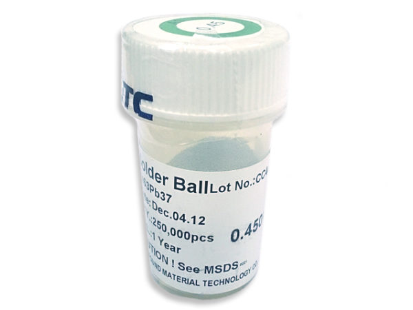 PMTC BGA Solder Balls 0.2mm to 0.76mm - Leaded Sn63Pb37-145