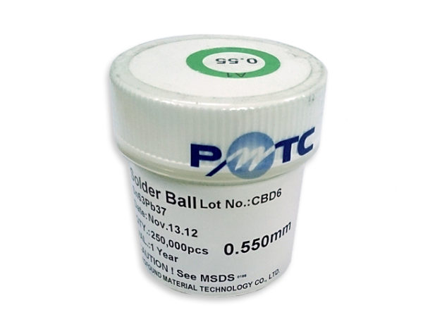 PMTC BGA Solder Balls 0.2mm to 0.76mm - Leaded Sn63Pb37-146