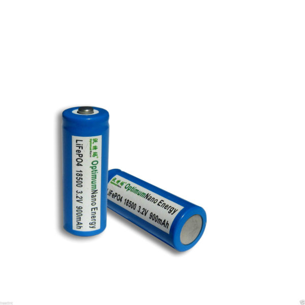 2 x OptimumNano LiFePO4 Rechargeable Batteries - 2000 Life Cycle-230