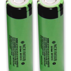 Panasonic NCR18650B 3400mAh Li-ion Battery Flat-Top Unprotected-0