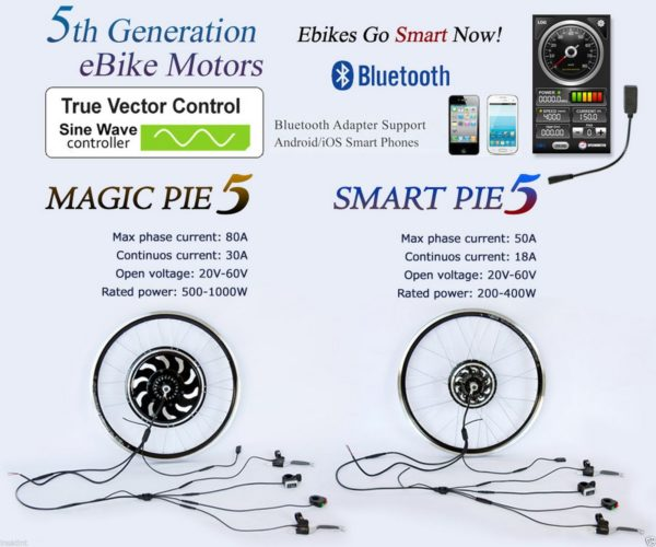 Magic Pie/Smart Pie Electric Golden Motor E-bike Conversion Kit-0