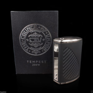Genuine Council of Vapor - Tempest 200W Box Mod - NEW & SEALED-0
